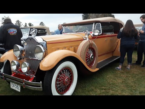 Early '30's Parkard, Cadillac and Buick At the 2019 AACA Fall Meet,Hershey