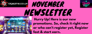 November Months Special Offers for Slots Game