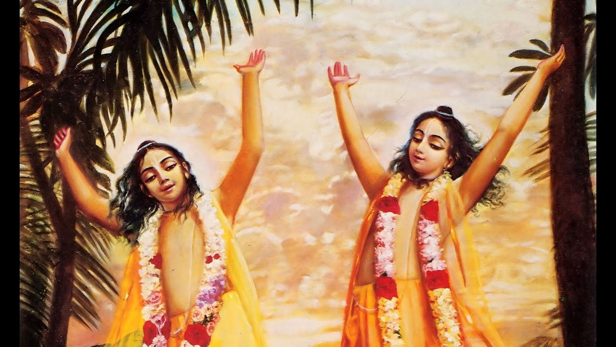 The sankirtana tree of Lord Caitanya Mahaprabhu