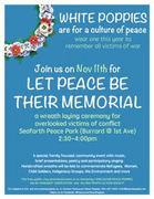 Let Peace Be Their Memorial