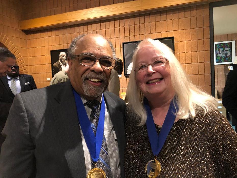 Dr. Harry Clark & Michele Bensen