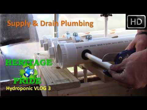 Hydroponic Rail System Build - VLOG 3 by HPFirearms