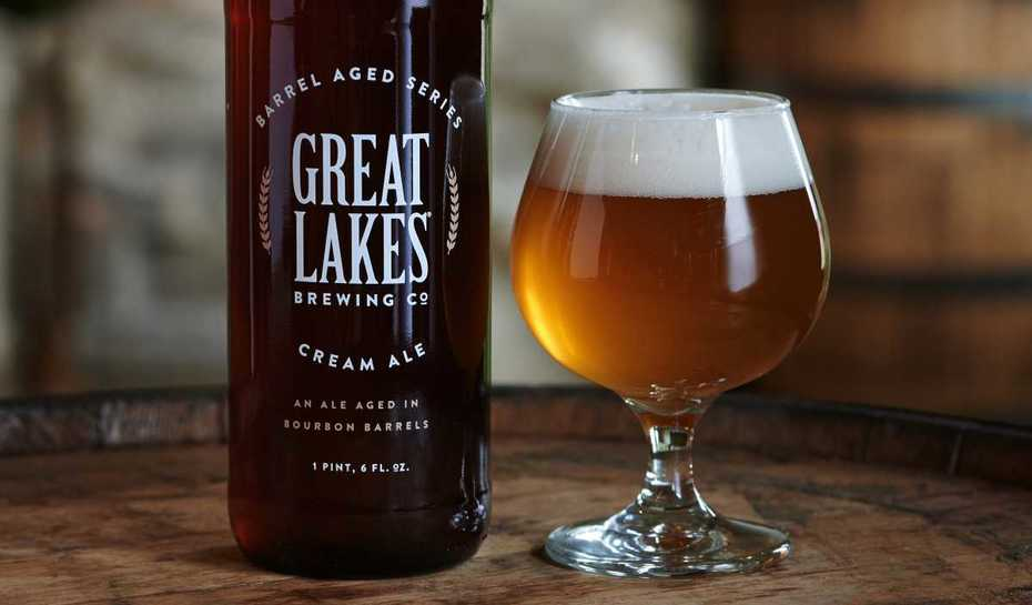 Great Lakes Barrel aged cream ale. Aged 10 months in bourbon barrels.