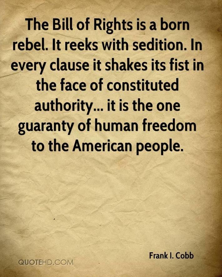 B.O.R sedition