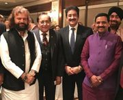 Sandeep Marwah at Get Together In Honor of Lord Rami Ranger