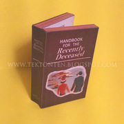 Beetlejuice Book Paper Toy