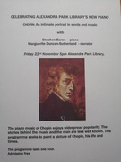 CHOPIN; an intimate portrait in words and music