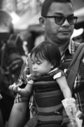 沙巴人文摄影家刘富威·街头拾景
