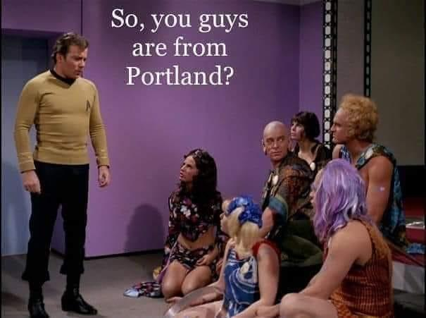 Portland (Oregon, Of Course)
