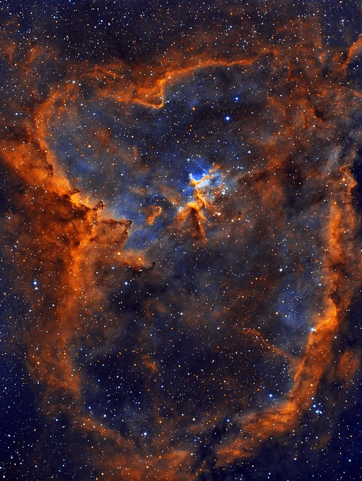 IC1805 Nebula (HST)