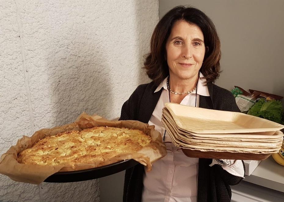 Bio food and re-usable plates
