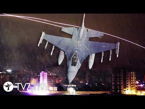 Israel targets Damascus following Syria rocket fire - TV7 Israel News 19.11.19