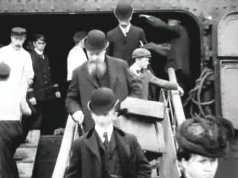 England, Edwardian Era around 1900 (enhanced video)