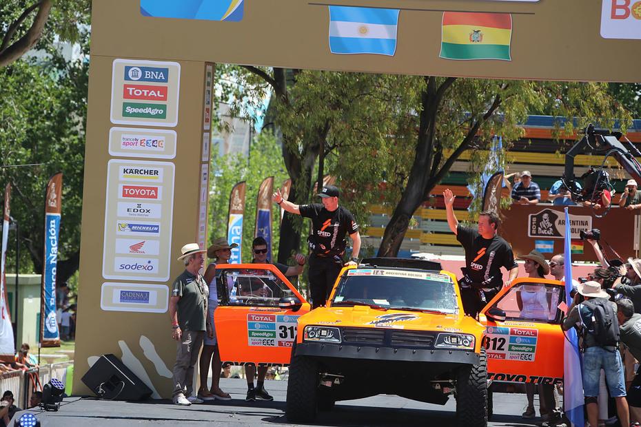 2016 Dakar Rally Robby Gordon Opening Ceremony