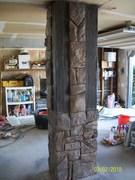 First carving pillar after (36)