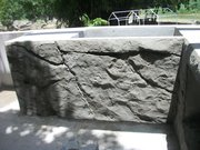 Concrete Countertop wall