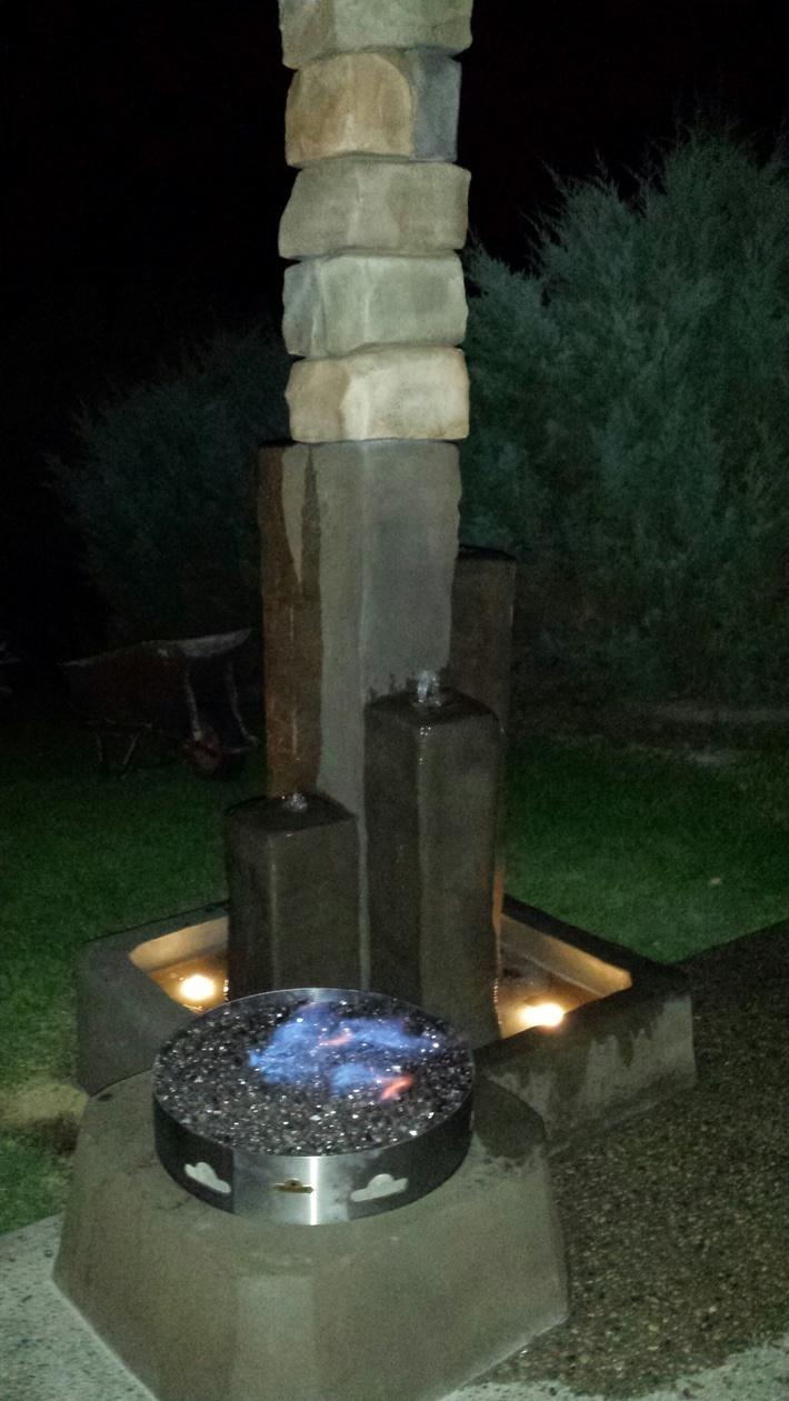 column water feature2