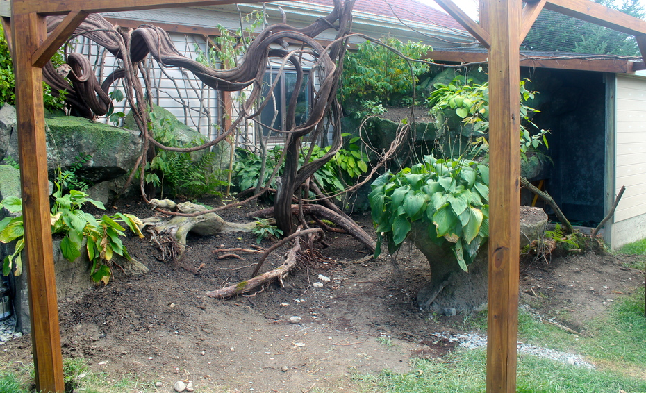 Planted aviary