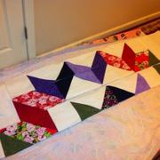 Carpenters Star Quilt top King Size