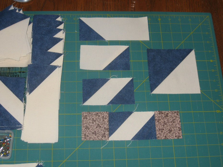 Mystery Quilt - Week 1 001