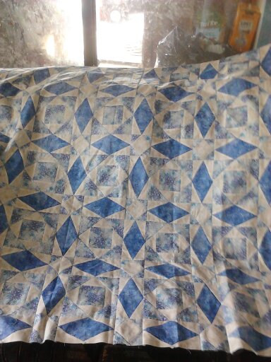DH's quilt