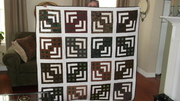 Quilt for my sister's 70th birthday