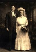 Meyer, Louis and Ida Wedding