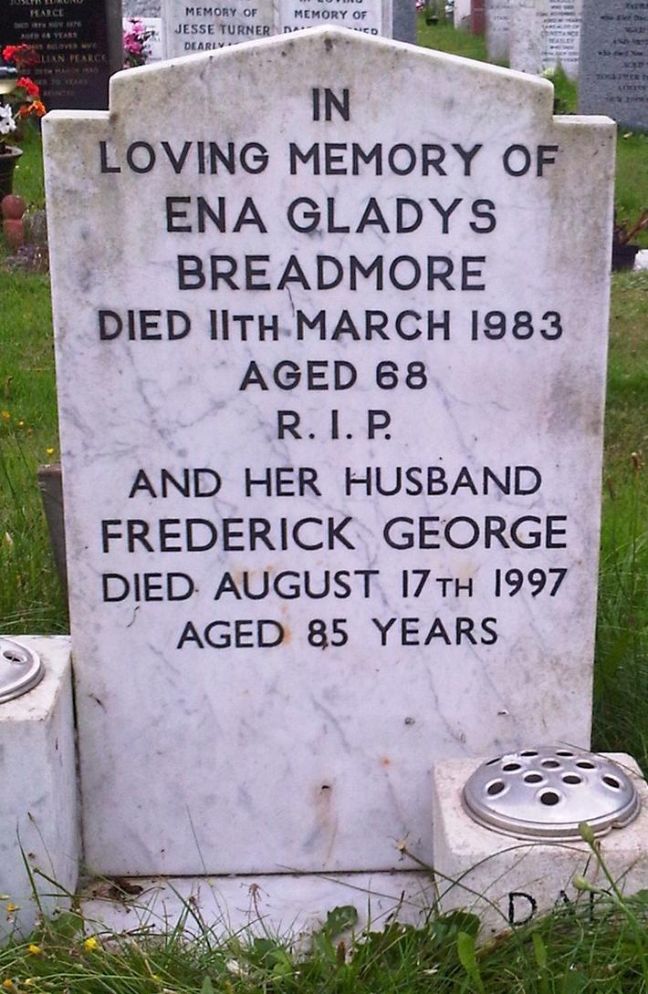 Frederick George and Ena Gladys