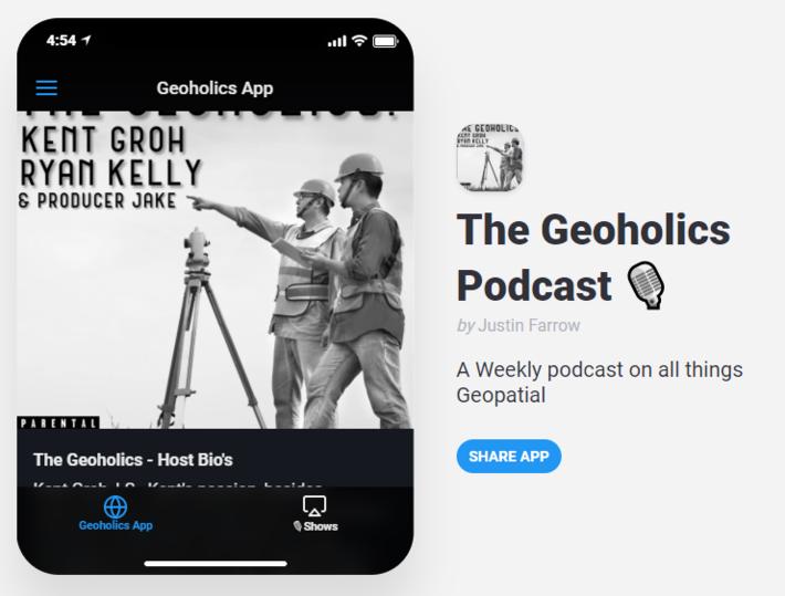 Geoholics Podcast App