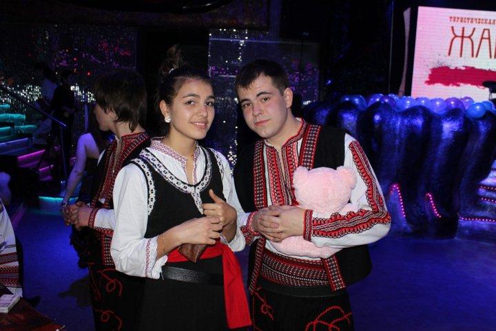 Димитър Костов-танцьор и  неговото гадже.