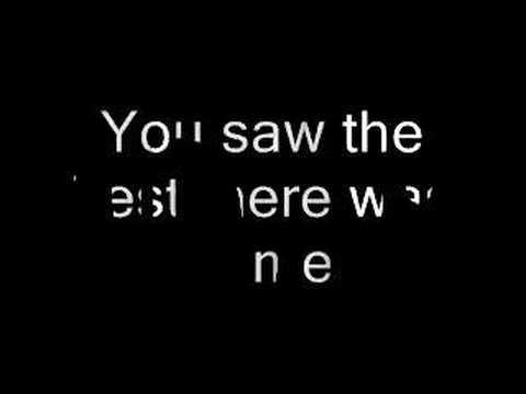 Lyrics: Because You Loved Me