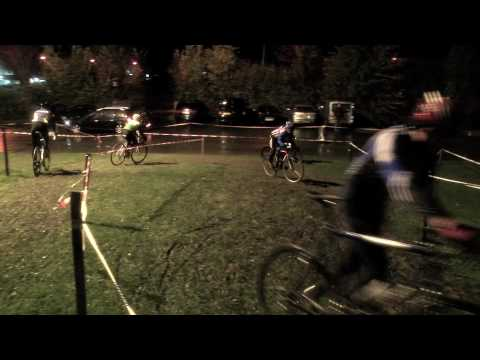 Cyclocross night training