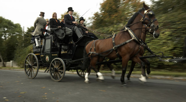 A Stagecoach Trip from Limerick to Dublin!