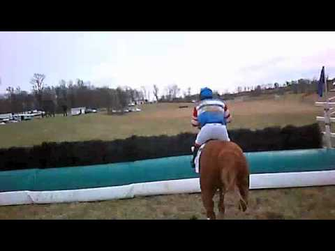Helmet Cam - Point-to-Point Steeplechase!