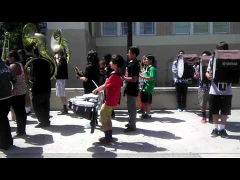 San Pedro High School band