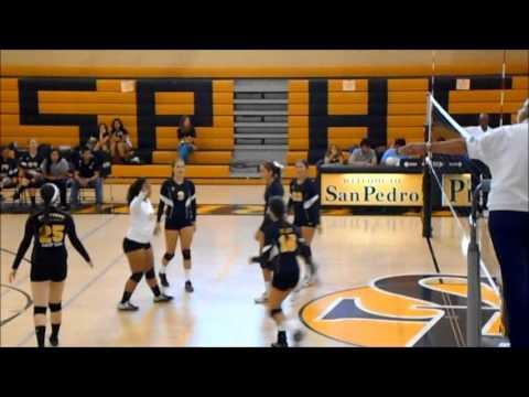 SPHS Girls Volleyball vs. Gardena (9-30-2013)