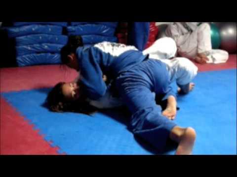 Relson Gracie Jiu-Jitsu Team HK Nora and Racquel