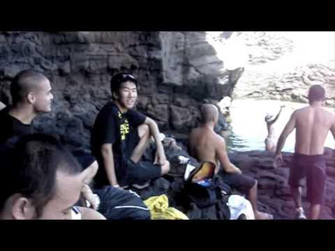 Relson Gracie Jiu-Jitsu Team HK Makapu'u Hike Part 1
