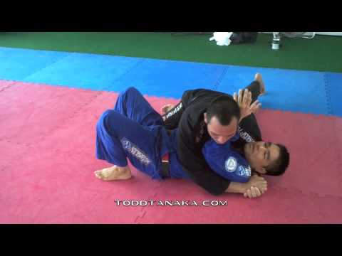 Relson Gracie Jiu-Jitsu Team HK - Todd Tanaka: Cross-Side Escape