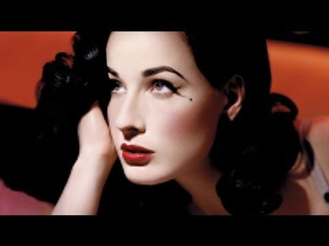 Dita Von Teese Pinup Makeup Tutorial