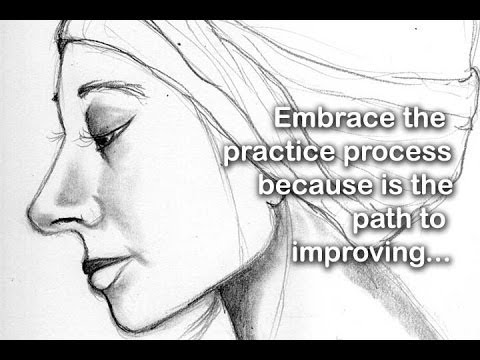 Embrace the practice process