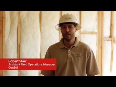 Pardee Homes - Building a Green Home - Insulation Inspection with ConSol's Rob Starr