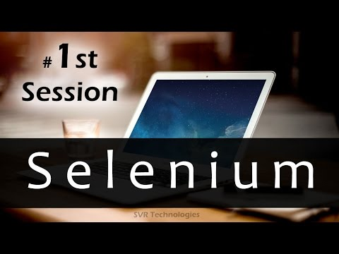 Selenium Online Training || Selenium Certification Training || Learn Selenium Online Tutorials ||SVR
