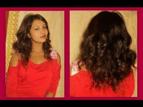 Soft Natural Curly Hair Tutorial