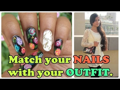 Match your nails with your outfit | Milanoo