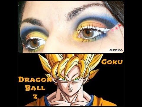Goku Dragon Ball Z Inspired Makeup Tutorial