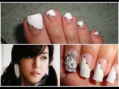 KPOP Nails: Girls' Generation Tiffany 소녀시대 태티서 Photobook