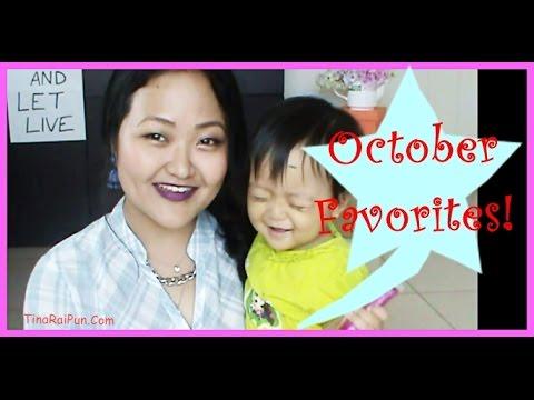 Beauty October Favourites - Tina Rai Pun!