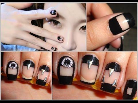 KPOP Nails: Secret 시크릿 Hyosung 전효성 Instagram Nails