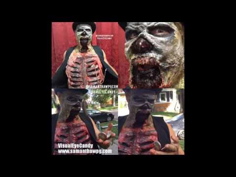 Zombie Apocalypse 2016 SPFX Halloween Makeup by VisualEyeCandy